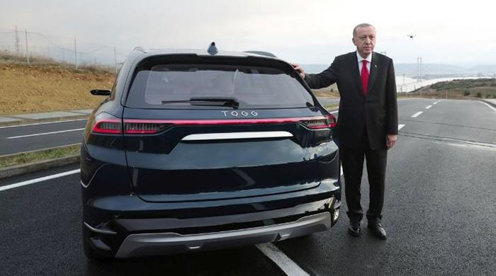 Turkey unveils first fully homemade electric car in $3.7 billion bet on electric - The News International