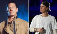 John Cena points his guns towards Justin Bieber after viral meme of their face-off