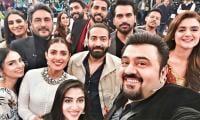 Hira Mani, Ayeza Khan, Adnan Siddiqui, Humayun Saeed's selfie goes viral