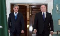 Qureshi meets Pompeo as Pakistan attempts to defuse Middle East tensions