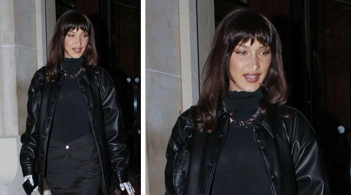 Bella Hadid flaunts killer new look with some bushy bangs - The News International