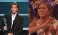 Jennifer Aniston's heartwarming reaction to Brad Pitt's acceptance speech wins the internet