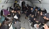 Army rescues 22 LUMS students stuck in snow-hit GB district
