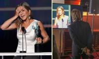 Jennifer Aniston elated after seeing Brad Pitt's reaction to her SAG win