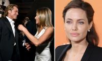 Brad Pitt, Jennifer Aniston could 'hurt' Angelina Jolie who is miffed at his marriage joke?
