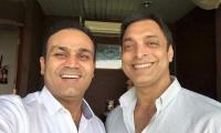 Shoaib takes a jibe at Sehwag: 'I have more money than he has hair'