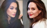 Angelina Jolie's lookalike from Russia takes the internet by storm