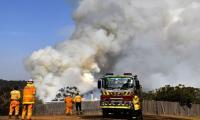 Australia capital airport closed as bushfires flare anew