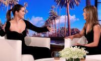 Selena Gomez fan girls over Jennifer Aniston as she takes over 'The Ellen Show'