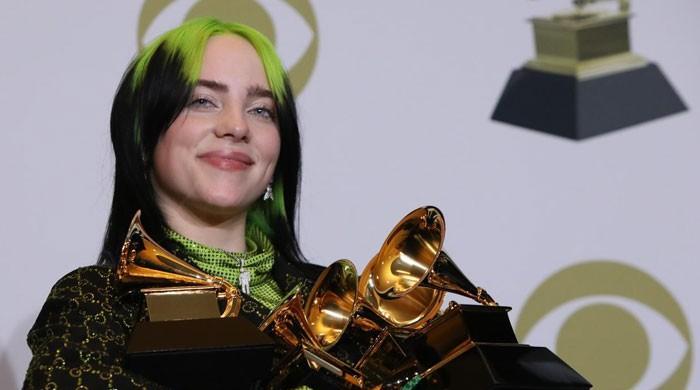 Billie Eillish dominates the Grammy Awards with five major historic wins
