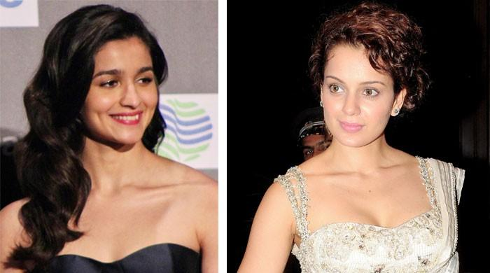 Alia Bhatt ends cold war with Kangana Ranaut by sending her a bouquet