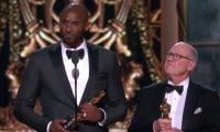 NBA legend Kobe Bryant's Oscars winning moment
