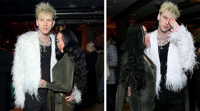 Machine Gun Kelly dating Miley Cyrus's sister Noah?