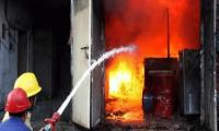 Lahore factory fire claims eight lives