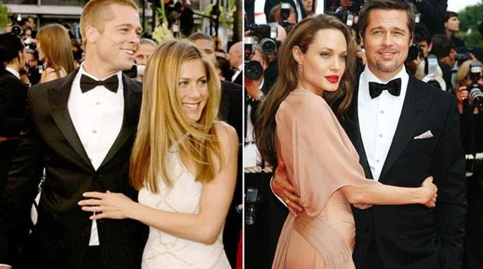 Jennifer Aniston tells Brad Pitt he was happier with her than with Angelina Jolie? - The News International