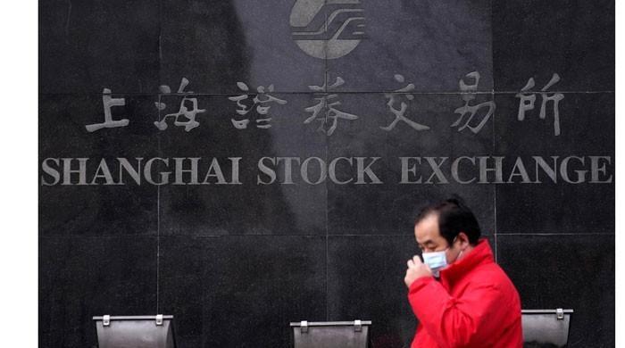 Shanghai stocks plunge on virus fears; pound slides after Brexit