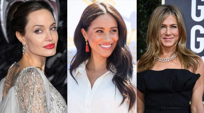 Jennifer Aniston, Angelina Jolie plotting against each other to become friends with Meghan Markle? - The News International