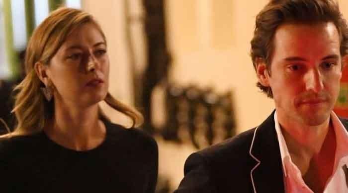 Oscars 2020: Maria Sharapova, boyfriend pose for pictures with Adam Sandler, Elton John - The News International
