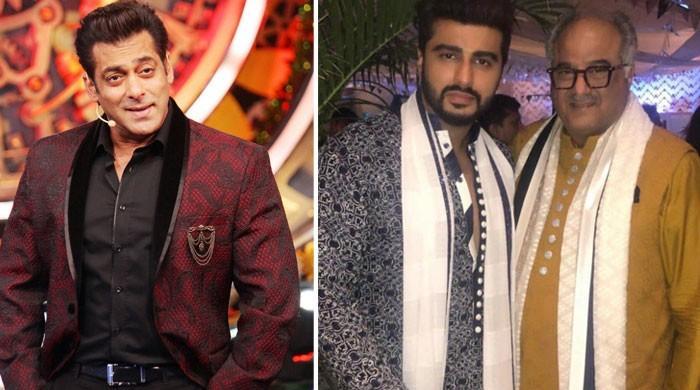Boney Kapoor says, despite Salman Khan launching Arjun Kapoor, their ties are now strained - The News International
