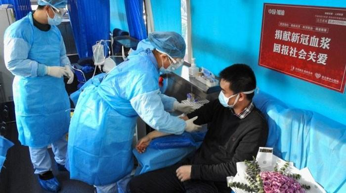 China urges cured patients to donate plasma for others' virus treatment