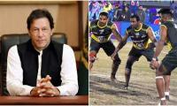 PM Imran congratulates kabbadi team on maiden word title