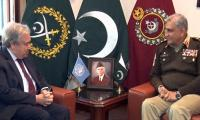 COAS Bajwa calls on UN chief Guterres, discusses Afghan peace process