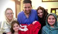 Afridi reveals name of his newborn daughter
