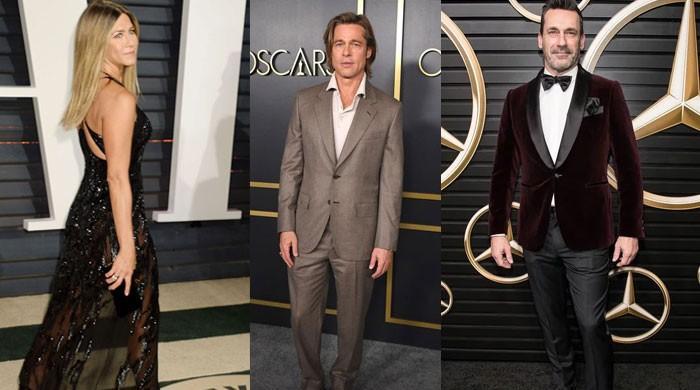Jennifer Aniston makes Brad Pitt jealous at an Oscars after party? - The News International