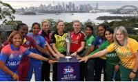 Women's T20 World Cup: Captains gather for trophy's media launch
