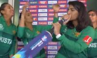 Watch: Pakistani women cricketers 'make their own music'