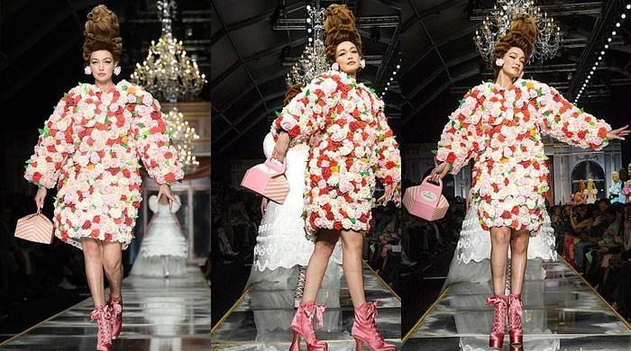 Gigi Hadid sets runway ablaze at Milan Fashion Week Show: see pics - The News International