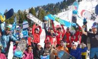 Pakistan stands tall at Malam Jabba's first ever snowboarding championship