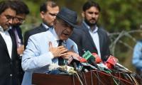 Shehbaz Sharif says Imran running economy through words 'rather than using brain'