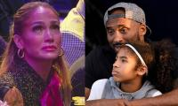 Jennifer Lopez bursts into tears remembering Kobe Bryant at his memorial