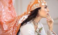 Ayeza Khan looks stunning in her 'favourite shot' with finger on lips