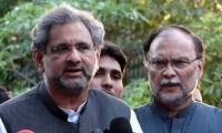IHC grants bail to PML-N leaders Ahsan Iqbal, Shahid Khaqan Abbasi