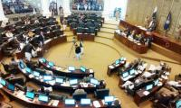 Opposition MPAs stand on seats as KP Assembly protest enters fifth day