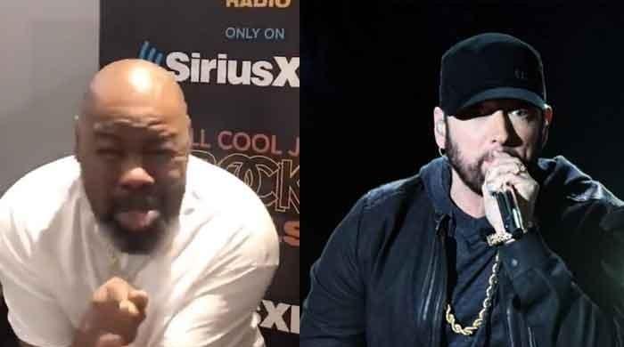 Eminem fans await his response to THIS hilarious take on #GodzillaChallenge - The News International