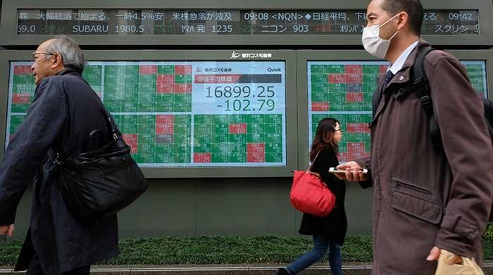 Asian markets give mixed response after coronavirus sparks Wall St collapse
