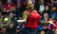 Social distancing has Serena Williams 'on edge' amid coronavirus pandemic