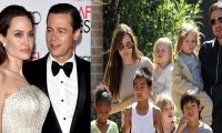 Angelina Jolie aims at Brad Pitt after banning Jennifer Aniston from meeting children?