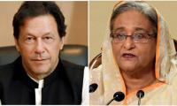 PM Imran congratulates Bangladeshi counterpart on country's national day