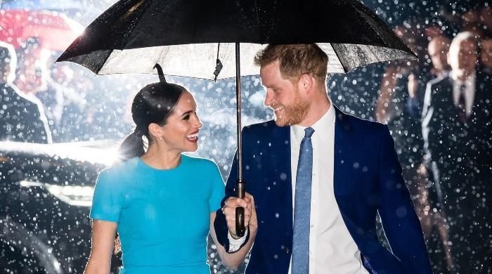 Prince Harry, Meghan Markle's iconic rain shot explained by photographer Samir Hussein