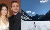 Justin Timberlake, Jessica Biel self-isolating in the mountains