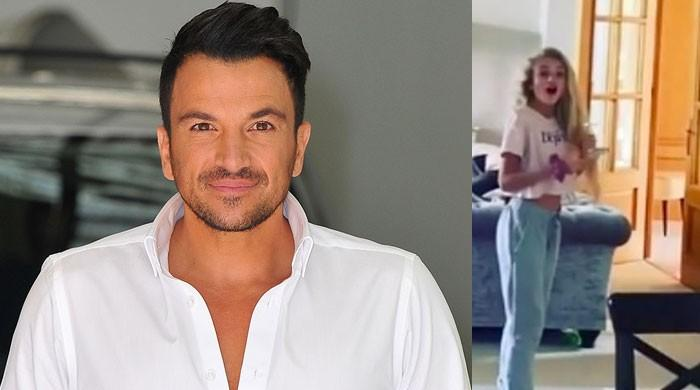 Peter Andre irks daughter Princess by blasting Adele's music