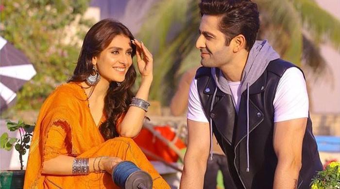 Ayeza Khan shares new teaser of drama serial 'Mehar Posh'