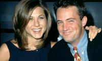 Jennifer Aniston, Matthew Perry cheer up frantic fans with 'Friends' references