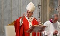 Pope livestreams Palm Sunday mass due to virus 'tragedy'