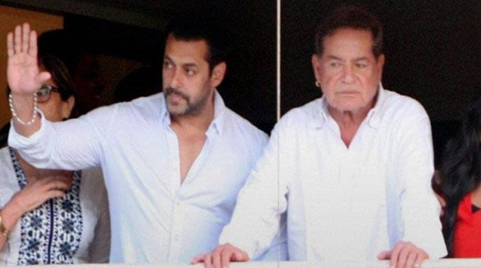 Salman Khan's throwback picture with father Salim Khan is truly unmissable