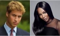 Naomi Campbell recalls meeting a 'blushing' Prince William upon Diana's request
